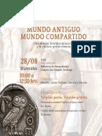 INVITACIÓN MUNDO ANTIGUO
