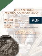 AFICHE MUNDO ANTIGUO, MUNDO COMPARTIDO (2)