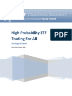 High Probability ETF Trading
