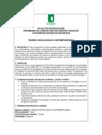 Syllabus Teorias Sociologicas Comtemporaneas (1)