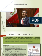 Política actual del Perú