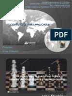Periodismo en situacion de conflicto Presentacion Unidad 1 que entendemos por conflicto