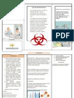folleto bioseguridad en la enfermeria