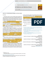 Sars-Cov-2 Underestimated damage to nervous system32220634