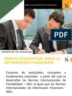 MARCO CONCEPTUAL NIIF 2019