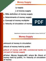 Moneysupply