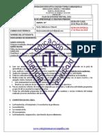 Guía 3 de aprendizaje matemáticas 10°