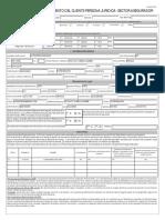 Formulario de conocimiento PJ 2019