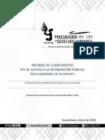 C - Informe de Supervisin - Municipalidades a Nivel Nacional 340 - Enero 2018