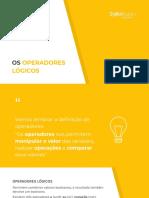 Material Complementar - Operadores lógicos (condicionais)