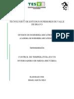 CONTROL DE TEMPERATURA EN INVERNADERO DE MEDIA HECTÁREA