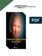 CALENDARIO LITÚRGICO FEBRERO osvaldo