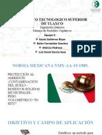 Exposición NMX-019