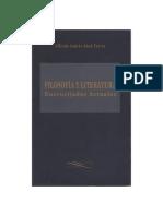 Filosofía y literatura - Encrucijadas actuales. Alfredo Abad pdf