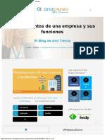 Departamentos de una empresa y sus funciones - Ana Trenza.pdf
