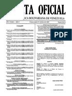 2005 VEN DEROGADO Decreto Comision Nacional de Gestion de Riesgo