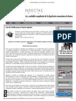 2008 VEN Ley de Crédito para el Sector Agrario
