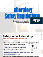 Laboratory Safety Regulations