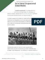 Historia de la Salud Ocupacional desde la Edad Media - Lifeder