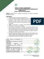 MICROORGNISMOS A EXPONER 1 DE 2020 MICRO AGROINDUSTRIAL