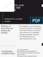 Report in Practical Research