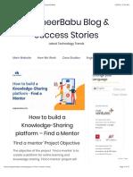 App to Find a Mentor | Online Mentorship Programs - EngineerBabu