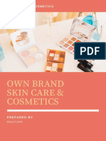 Own Brand Cosmetics and Skincare