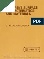 Surface Characteristics_STP763
