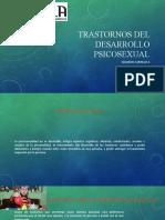 Trastornos del desarrollo Psicosexual