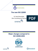 The New ISO 22000-2018