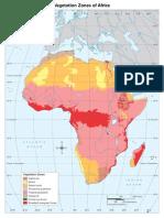 Vegetation Zones Africa