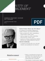 Bf skinner operant conditioning (B)