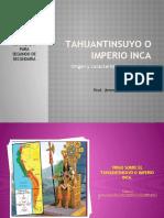 TAHUANTINSUYO O IMPERIO INCA