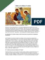 Sfânta Treime în Biblie şi în Sfânta Tradiţie