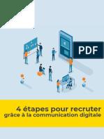 Trois virgule cinq - Livre Blanc _ 4 etapes pour recruter grace a la communication digitale
