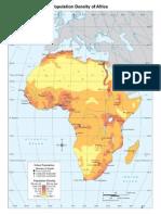Population Density Africa