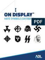 ADL Hate on Display Printable
