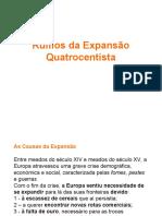 2-Rumos da Expansão Quatrocentista