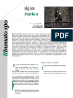 Lombalgies & équitation