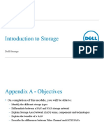 Appendix A - Introduction to Storage