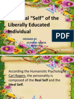 The Ideal Self of the liberally educated individual- Julieta M. Garcia