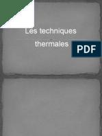 theqnique thermale  modifié13-10.pptx