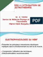1 introduction à l'utilisation de l'électrothérapie