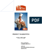 Proiect Marketing - Vel Pitar