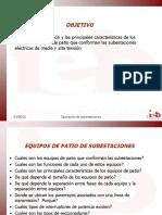 EQUIPOS DE PATIO DE SUBESTACIONES