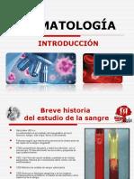 TEMA I Y II INTRODUCCION, ORIGEN Y DESARROLLO DE LA SANGRE Y TEJIDOS HEMATOPOYETICOS