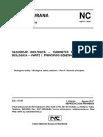 NC 1201-1-2017 SEGURIDAD BIOLÓGICA- GABINETES DE SEGURIDAD BIOLÓGICA-PARTE 1 PRINCIPIOS GENERALES.pdf