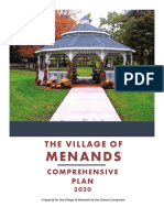Adopted Village of Menands Comprehensive Plan