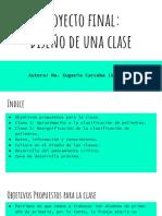 Proyecto final_ Diseño de una clase