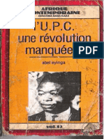 UPC LA REVOLUTION MANQUEE